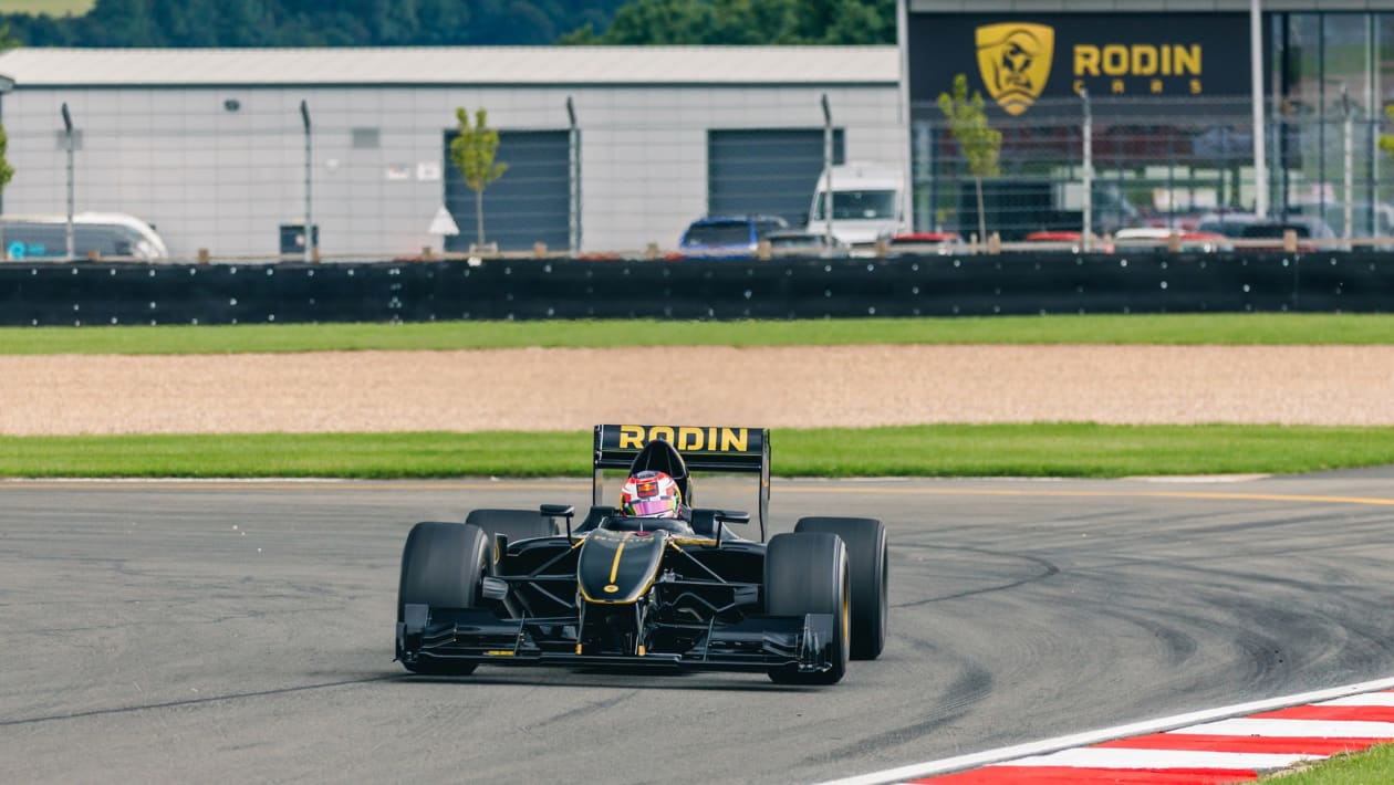 Rodin Cars FZED hits the track in the UK